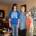 Pâques avec mon grand Milan et Dejan son frère