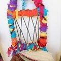 23 numérotée Chaise colorée