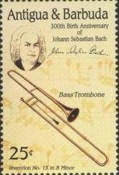 Trombone Timbre Antigua 1985