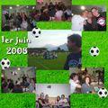 31 / Match du 1er juin 2008 - repas café de la Place