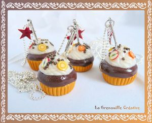 Collier muffin chocolat (2)