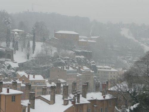 Lyon sous la neige, 30/11/2010