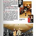 parution pétille magazine, défilé pierry