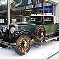 065- visite au musée Autoworld de Bruxelles le 9 novembre 2011