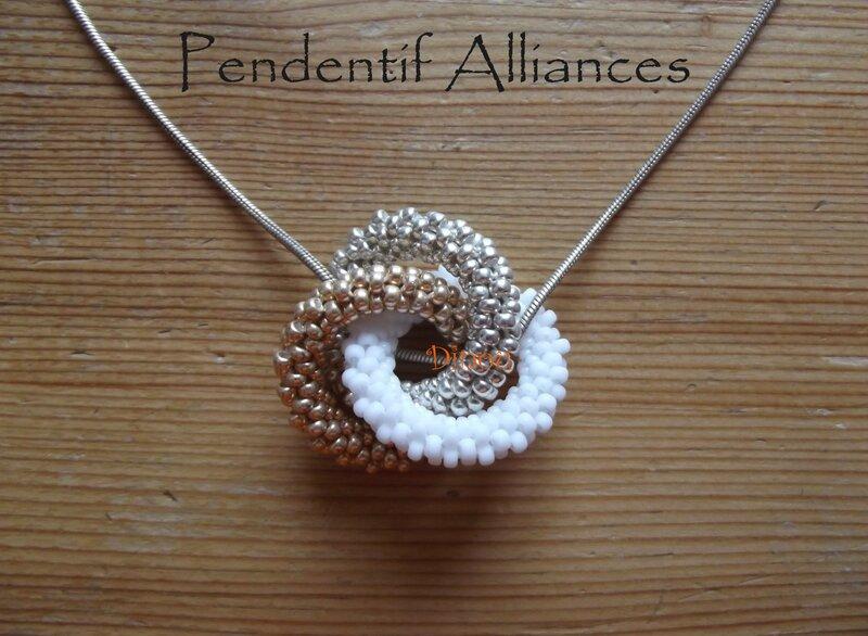 Pendentif Alliances 2