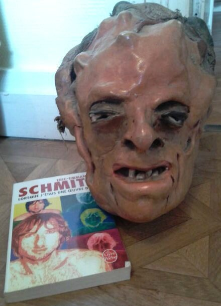 Lorsque j'étais une oeuvre d'art, Eric Emmanuel Schmitt