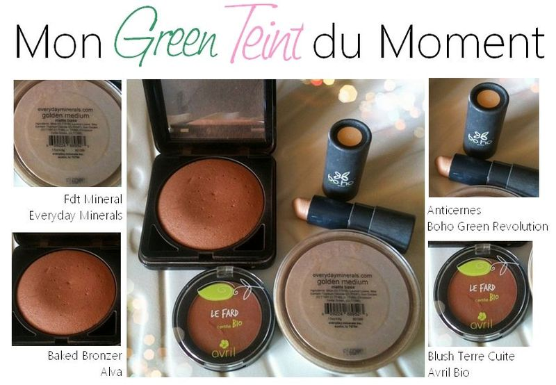 mon green teint du moment by reo cosmetiques maison diy conseils beaut maquillage. Black Bedroom Furniture Sets. Home Design Ideas