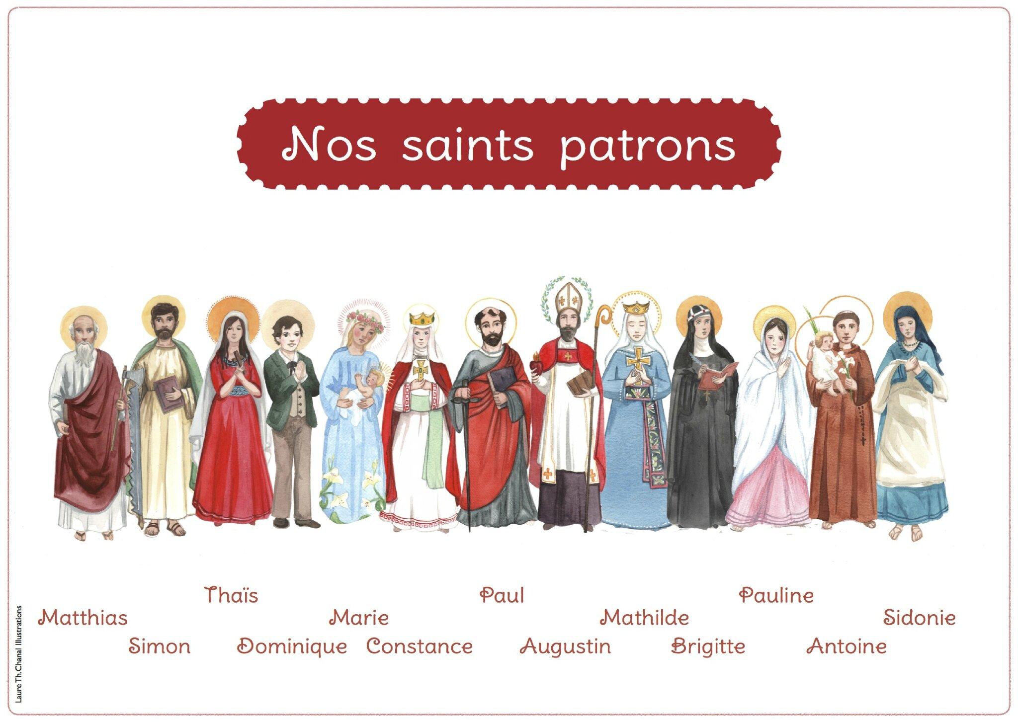 affiche saints brigitte