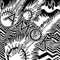 Pochette probable pour le premier album d'atoms for peace.