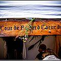 La cour de richard coeur de lion (château de talmont)