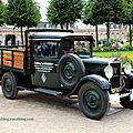 Peugeot 201 T camionnette de 1927 (9ème Classic Gala de Schwetzingen 2011) 01