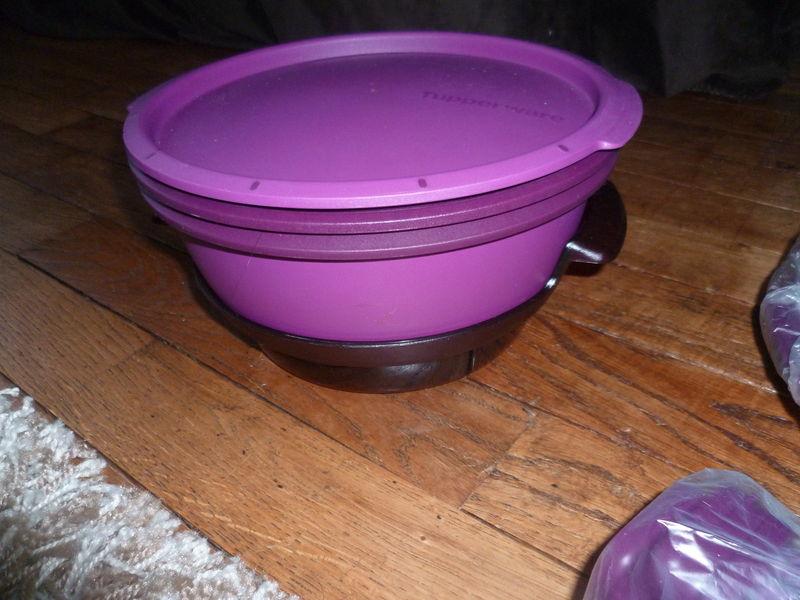 Braderie de printemps la cuisine tupp de vanessala for Micro vap violet
