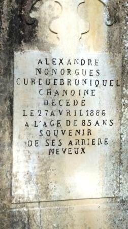 la tombe Nonorgues