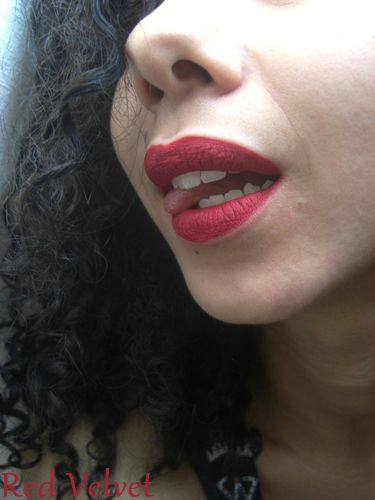 Lime Crime Velvetines - Red velvet et Suedeberry (12)