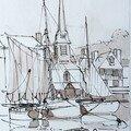 Quai Saint Etienne - épure - Février 2006