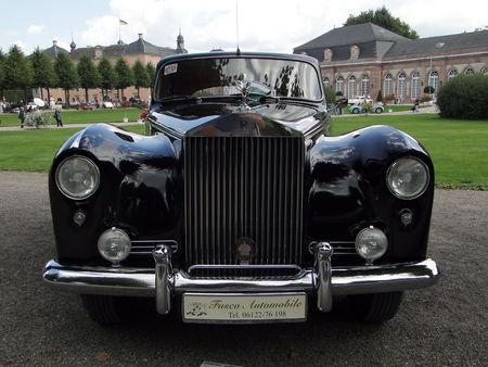 ROLLS ROYCE Silver Cloud I Hooper Empress Saloon 1956 Classic Gala de Schwetzingen 2010 2