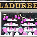 An afternoon in paris • ladurée