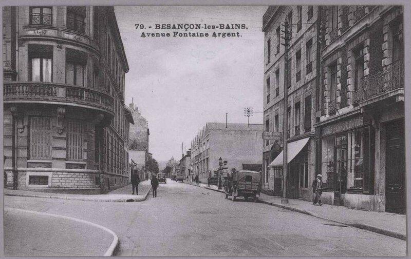 av fontaine argent 1915 1930