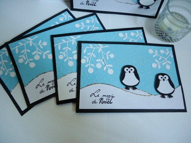 cartes voeux Pingouin (1)