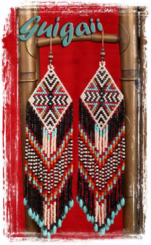 BO Aztec Rizo turquoise 266