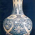 Vase. Chine, dynastie Qing, XVIIIme sicle, collection Duong Mi