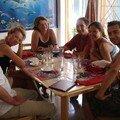 Yvan, Nathalie, Priscillia et Aurélio... des chanceux comme nous, rencontrés à Rodrigues