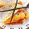 Tarte tatin aux poires, caramel beurre salé & noix de pécan