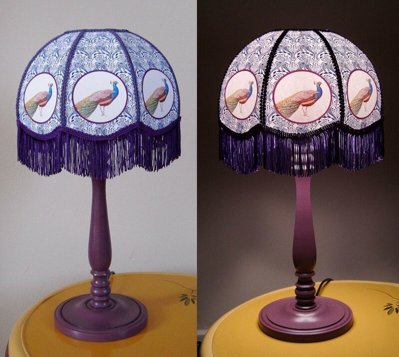 lampe paonx2