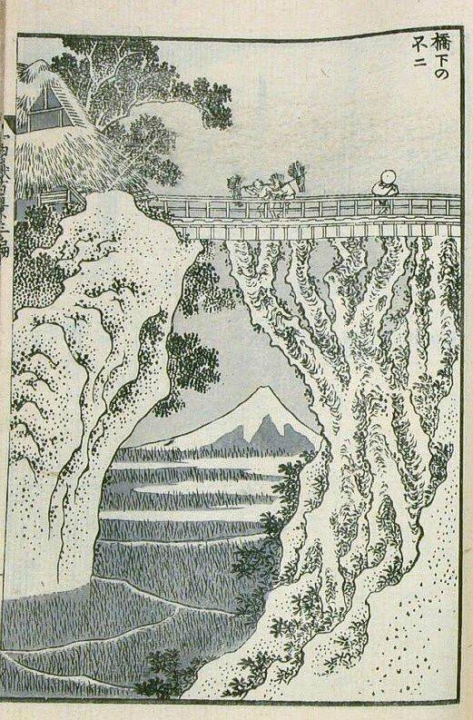 Hokusai, Kyôka no Fuji