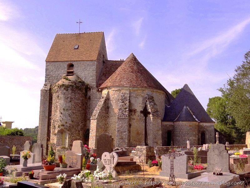 Eglise de Rochefort en yvelines et son cimetière (5)