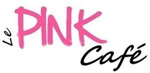 pink café logo
