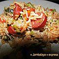 Jambalaya express, version cookeo