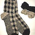 Chaussettes type écossais