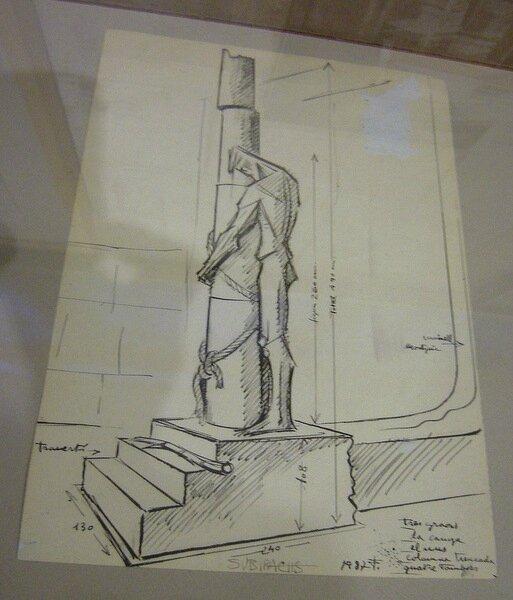 Sagrada Familia Subirachs dessin flagellation