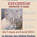 Exposition centre le phocea marseille du 7 mars au 8 avril 2013