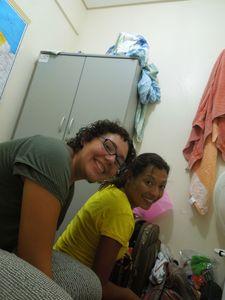 Anna et Anna (espagnole et brésilienne) chez Elinaldo
