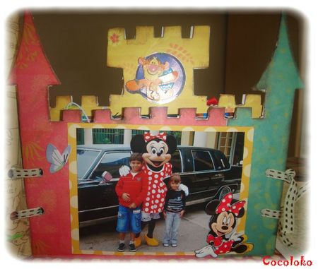 Mini chateau disney W4