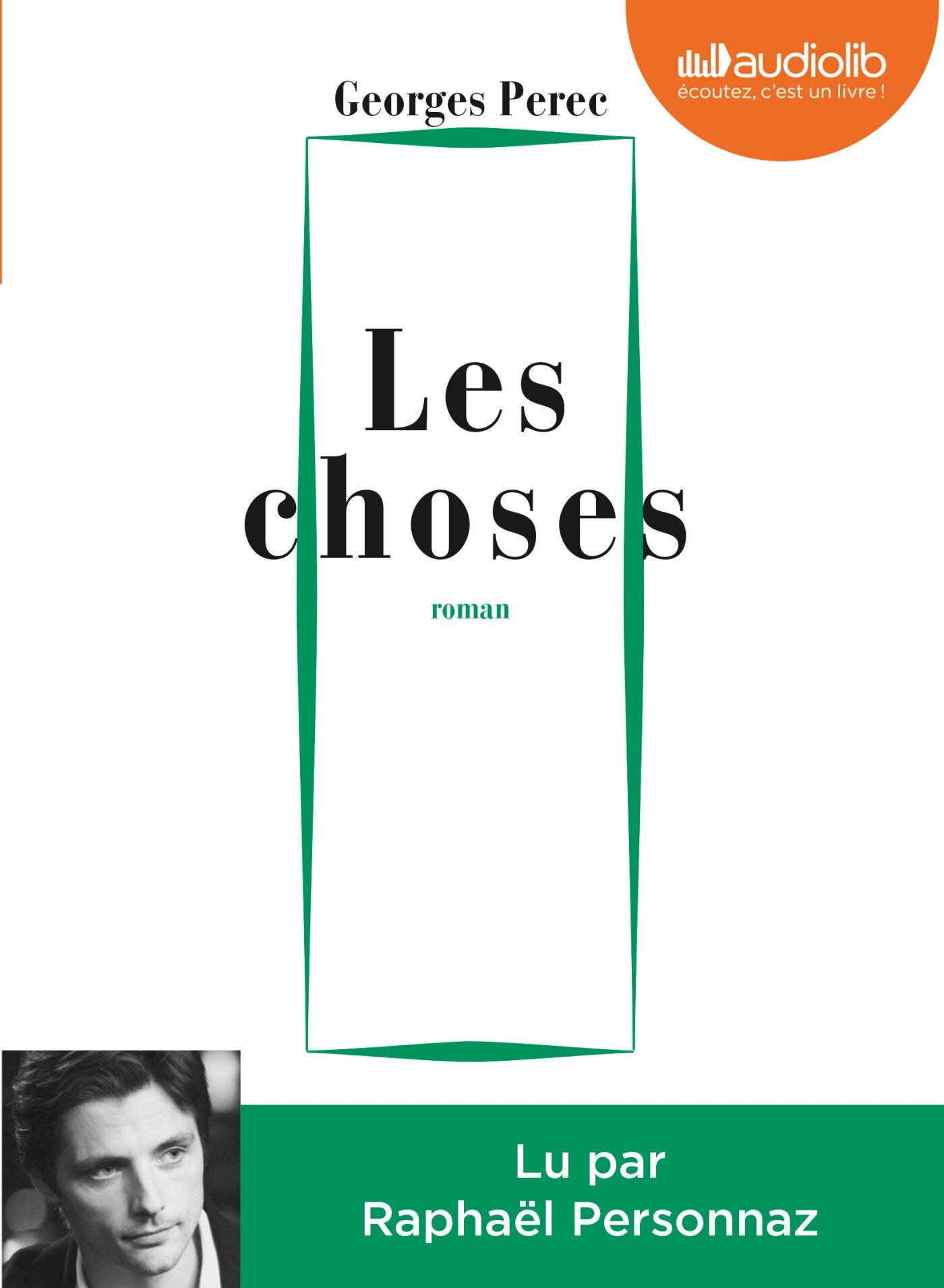 Les Choses : version audio