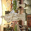 Statue grecque dans un des salons