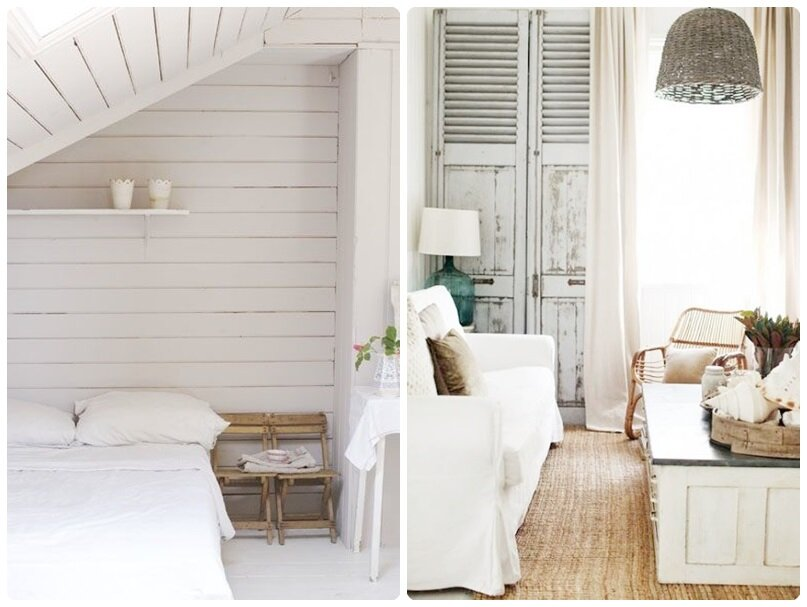 inspiration d co une maison au bord de la mer la vie devant moi. Black Bedroom Furniture Sets. Home Design Ideas