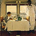boy-in-a-dining-car-1947 Norman Rokwell