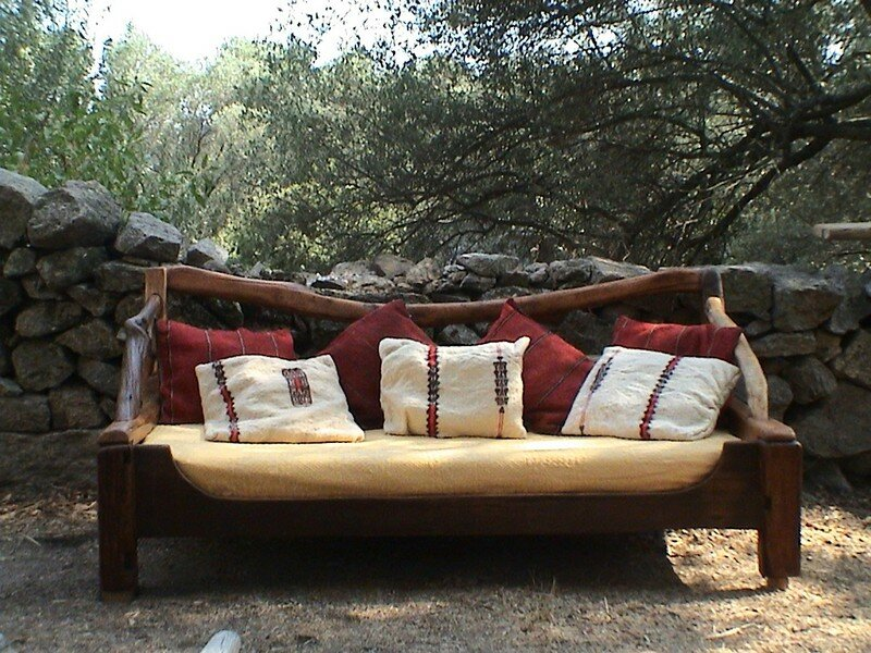 canape en bois flotte milema arte. Black Bedroom Furniture Sets. Home Design Ideas