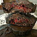 Tablette maison deux chocolats et framboise (39)