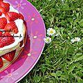 Une fraise pour toi, une fraise pour moi, un fraisier pour nous, et voilà