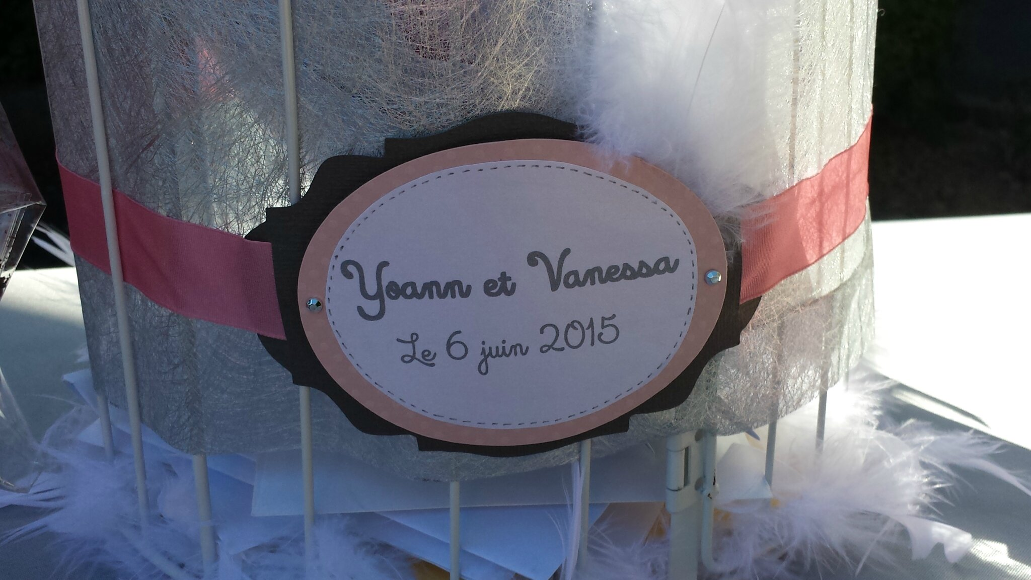 annonce urne mariage