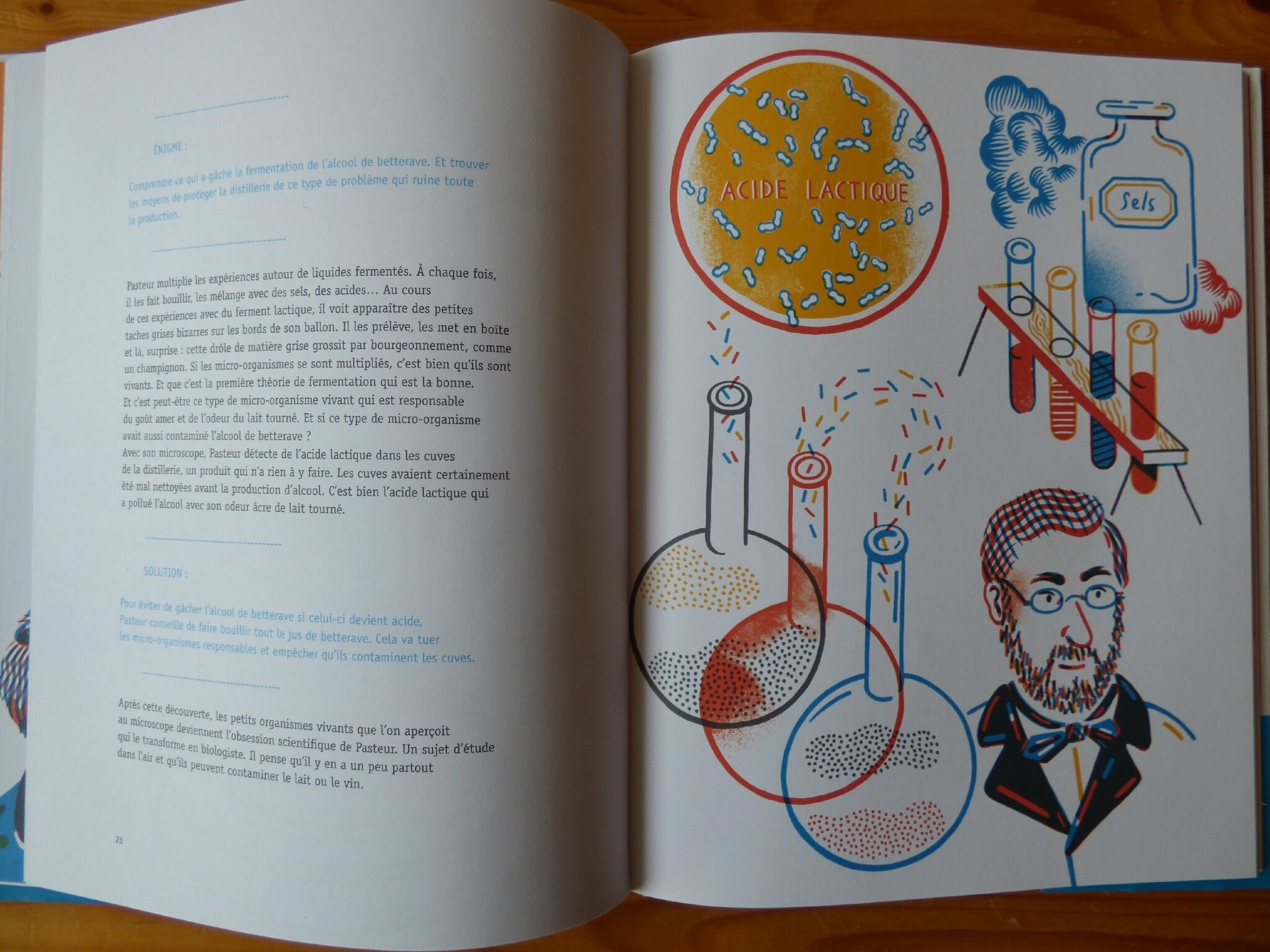 Lire autour de l'exposition Pasteur, l'expérimentateur (1)
