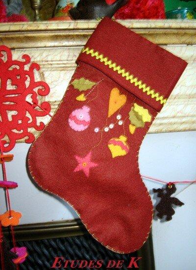 Botte de Noël - kit Atelier des Abcdaires