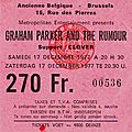 1977-12-17 Graham Parker & The Rumours-Clover