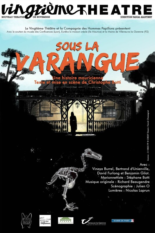 Affiche Varangue 20e théatre light