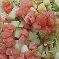 salade p de t saumon